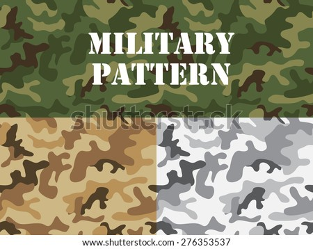 military camouflage pattern