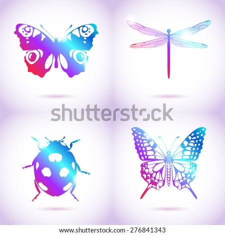 collection of vector insects