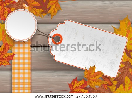 foliage with price sticker on