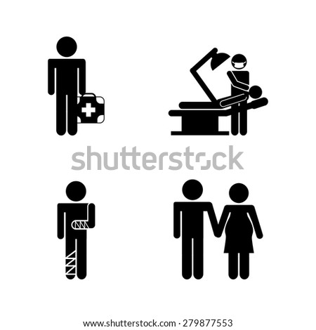 medical icons design  vector