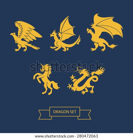 set of dragons