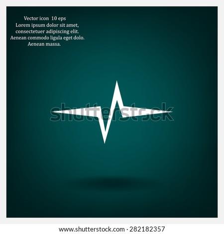 stock-vector-heart-beat-cardiogram-pulse-icon