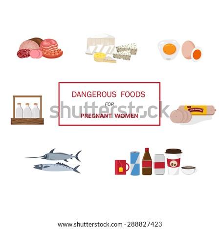 dangerous foods set for