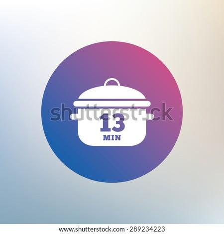 boil 13 minutes cooking pan