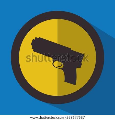 justice icon design over blue