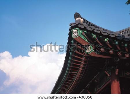 engraving vintage oriental