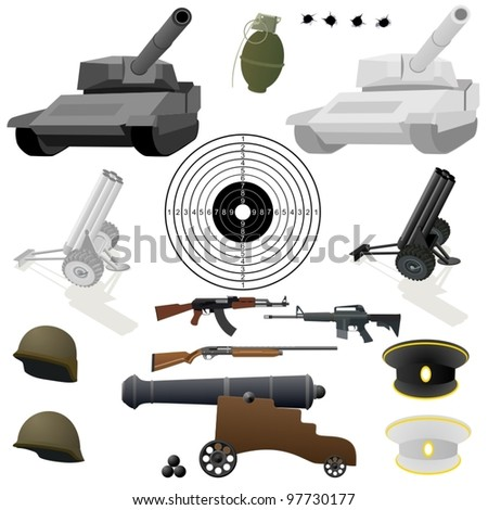 military equipment  small arms