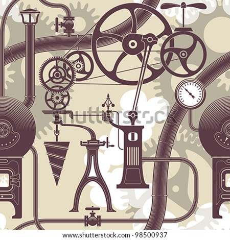 elements of a steam engine