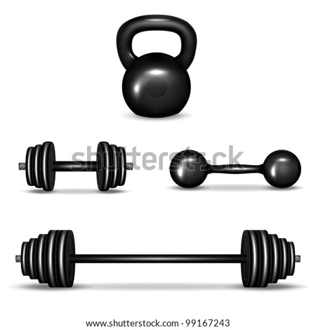 Go Back > Gallery For > Dumbbell Silhouette Png