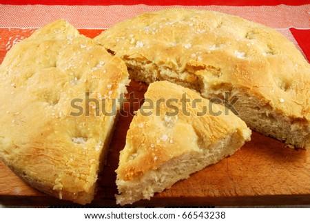 015 - A homemade cake leavened baked - stock photo