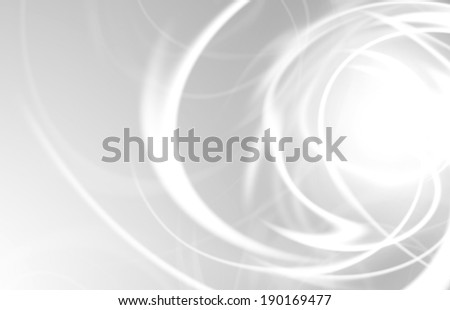 abstract background with blurred neon light rays - stock photo
