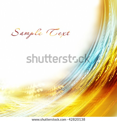 Abstract color background - stock photo