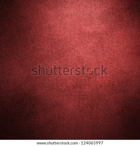 abstract red background or Christmas background with bright center spotlight and black vignette border frame with vintage grunge background texture red paper - stock photo