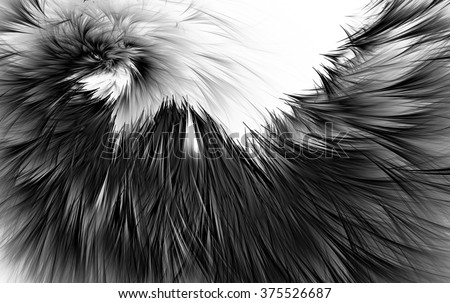 Abstract wallpaper. Abstract fractal. Fractal background art for CRE  - stock photo