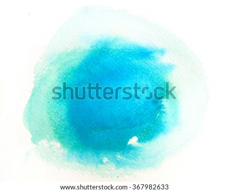 abstract watercolor wash background design                               - stock photo