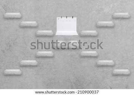 alternative staircase go to business man miniature figure sit down on passbooks conceptual step by step of business to for success  - stock photo