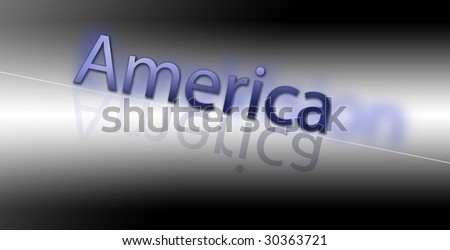 """""""America"""" - stock photo"""