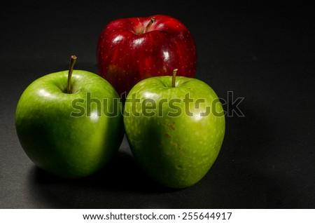 Apple's - stock photo