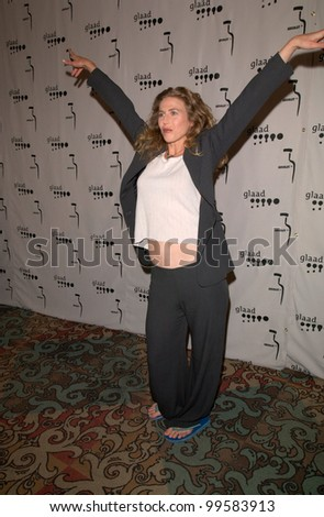 15APR2000: Actress SOPHIE B. HAWKINS at the Gay & Lesbian Alliance Against Defamation (GLAAD) Awards in Los Angeles.  Paul Smith/Featureflash - stock photo