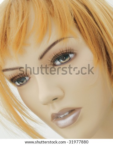 Arty Beauty - stock photo