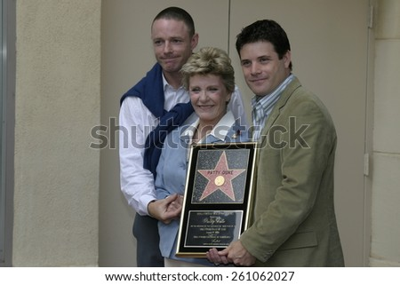17 August 2004 - Hollywood, California - Patty Duke. Actress Patty Duke honored with the 2,260th star on the Hollywood Walk of Fame in front of the Hollywood Roosevelt Hotel. - stock photo