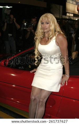 19 August 2004 - Hollywood, California - Victoria Gotti. Pelle Pelle's Celebrity Catwalk for charity hosted by Nicole Richie at the Palladium in Hollywood.  - stock photo