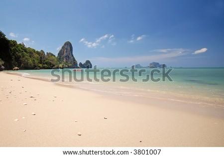 beach thailand - stock photo