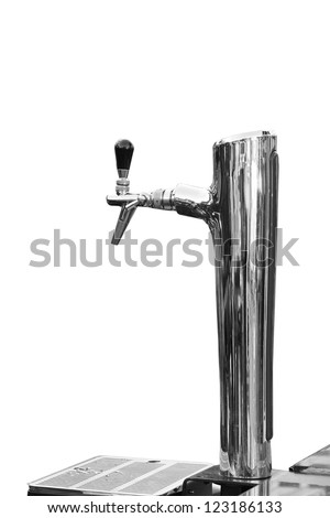 beer tap - stock photo