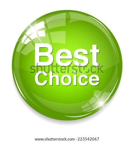 best choice  - stock photo