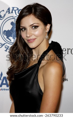 25/10/2008 - Beverly Hills - Katharine McPhee at the 30th Anniversary Carousel Of Hope Ball held at the Beverly Hilton Hotel in Beverly Hills, California, United States.  - stock photo