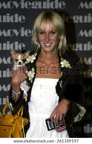 02/24/2005 - Beverly Hills - Kimberly Stewart at the 13th Annual Faith and Values Movieguide Awards at the Beverly Hilton Hotel.  - stock photo