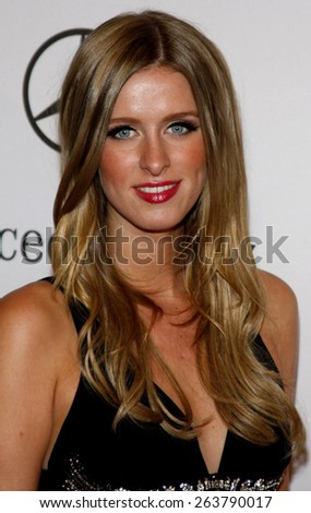 25/10/2008 - Beverly Hills - Nicky Hilton at the 30th Anniversary Carousel Of Hope Ball held at the Beverly Hilton Hotel in Beverly Hills, California, United States.  - stock photo