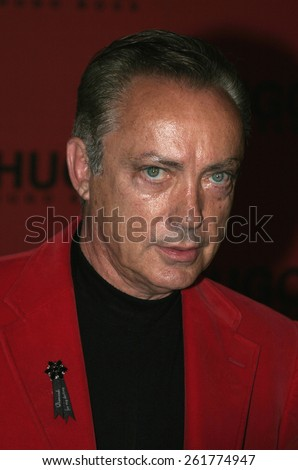 03/15/2005 - Beverly Hills - Udo Kier at the Hugo Boss Fall Winter 2005 Men's and Women's Collections Party and Fashion Show - Arrivals at The Beverly Hills Hotel. - stock photo
