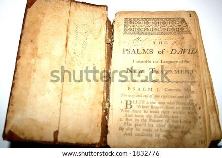 1601 Bible - stock photo