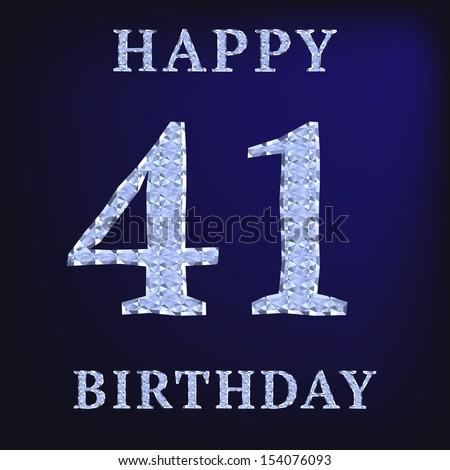 41 год поздравление с днем рождения
