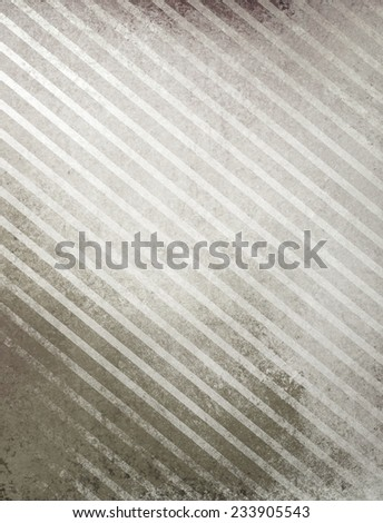 black background, white gray grunge stripes in diagonal pattern and faint texture, monochrome grayscale background - stock photo
