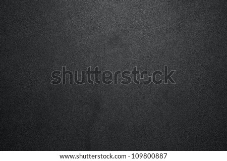 Black texture with spotlight - stock photo