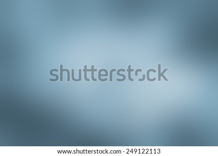Blue blurred background. - stock photo