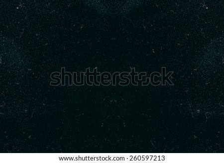 blue scratched texture, abstract background - stock photo