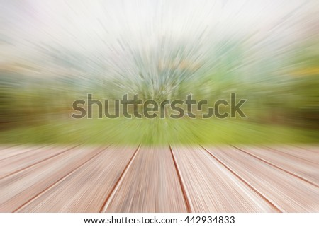 Blur natural background with selective focus - stock photo