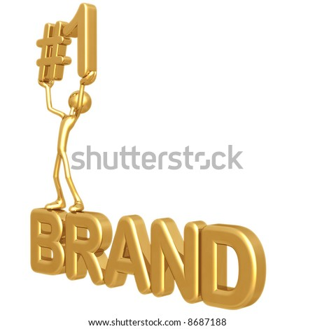 #1 Brand - stock photo
