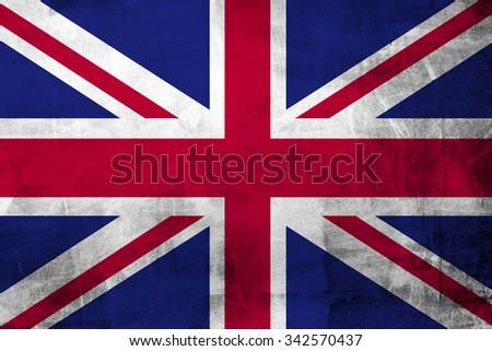 British uk national flag  - stock photo