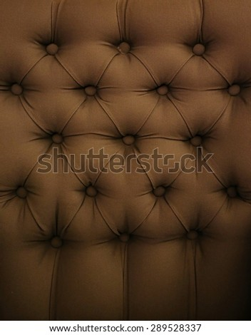 brown sofa background - stock photo