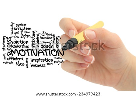 Business Motivation - stock photo