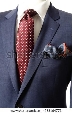 business suit, Suit, jacket, suit jacket, business suit on bust - stock photo