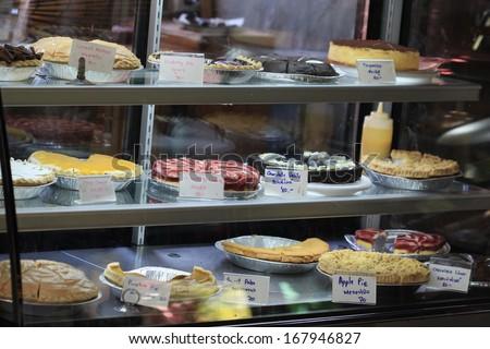 cake shop - stock photo