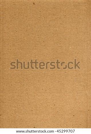 cardboard sheet background - stock photo