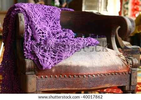"""chair-old-shopping"" - stock photo"
