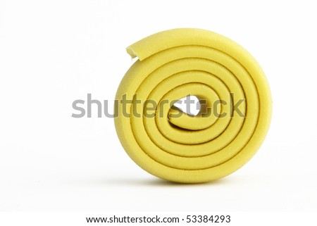 Chewing gum on white background - stock photo