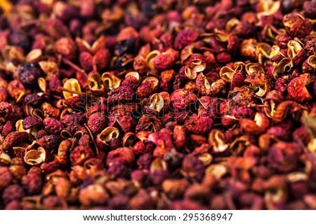 Chinese prickly ash studio shot - stock photo